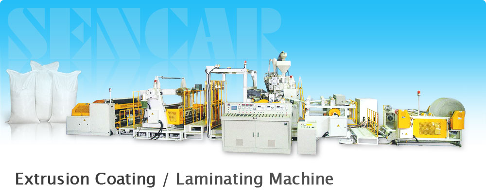 Extrusion Coating / Laminating Machine
